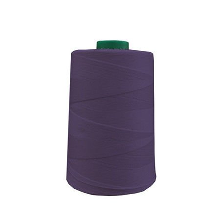 A&E Light Weight Polyester Thread, Tex 27 , Purple - 6000 Yard Spool