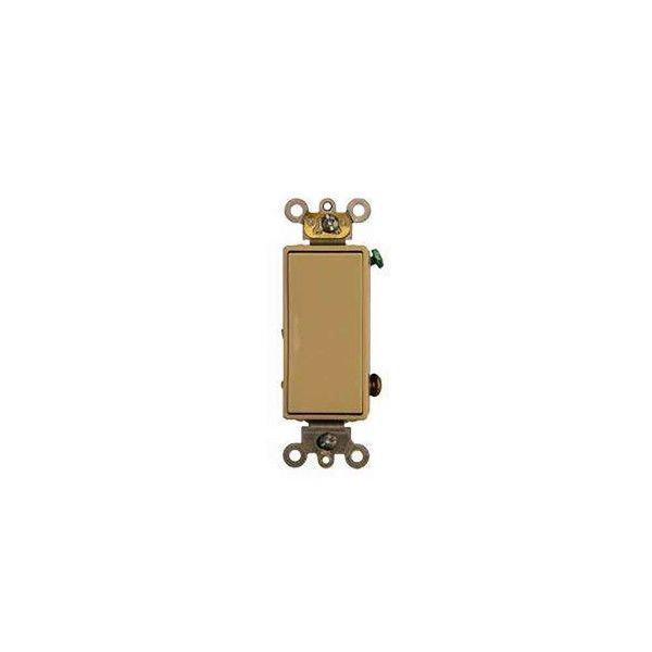 Somfy - Momentary Decorator/Designer Switch, Single Pole (Ivory)