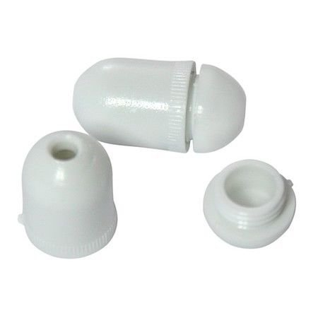 Lift Cord Condenser -Pill Shaped, White -10 pack