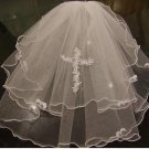 First holy communion veil,WHITE, IVORY  HOLY COMMUNION VEIL