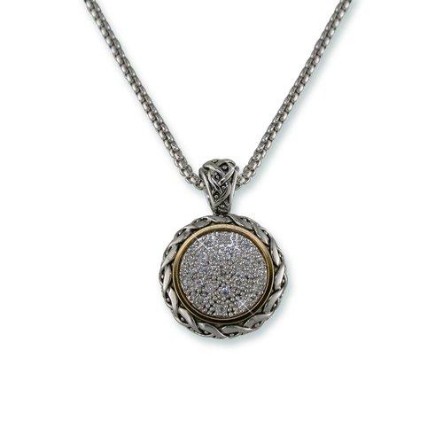 Antique Cubic Zirconia Necklace