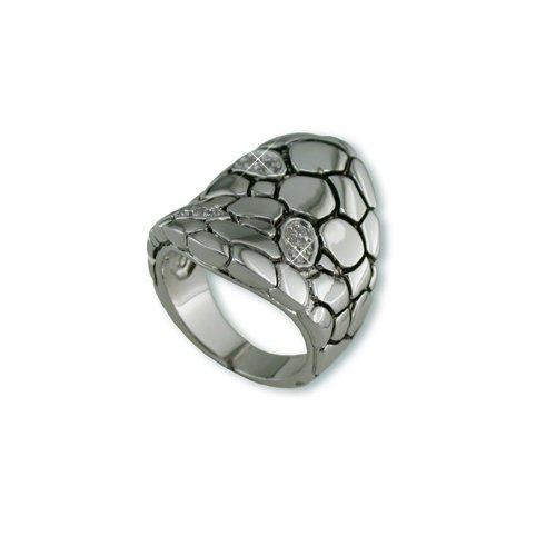 Cobblestone Cubic Zirconia Ring