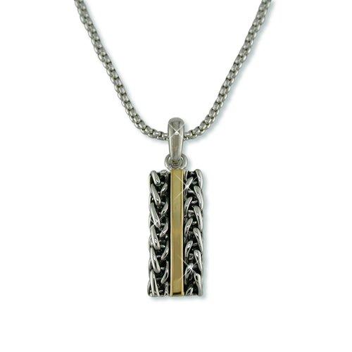 "Antique ""Chains"" Bar Necklace (N5440T)"