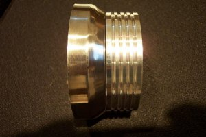 POLISHED BILLET GM CHEVY ADAPTOR 3196 FOR 1969-2007