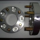 """1"""" Wheel Spacers 5 x 4.75"""" (120.7mm) to 5x4.75"""" 12mm studs 1 Pair 5 lug adapter"""