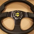 Ford Mustang Black Leather Steering Wheel 1970-1980