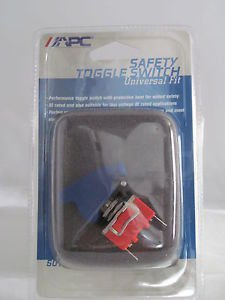 Toggle Switch Universal Fit APC for NOS Fog Lights Safety Toggle Switch Blue