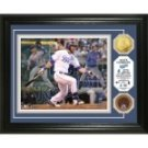 "Alex Gordon ""Triple Play"" Game Used Dirt Coin Photo Mint"