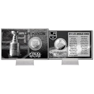 LA Kings 2014 Stanley Cup Final Silver Coin Card