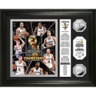 "San Antonio Spurs 2014 NBA Finals Champions ""Banner"" Silver Coin Photo Mint"