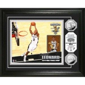 "San Antonio Spurs 2014 NBA Finals ""MVP"" Silver Coin Photo Mint"
