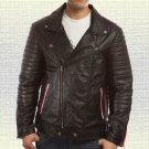 Blue Valentine Motorcycle Leather Jacket