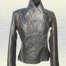 Ladies Black Fashion Leather Jacket