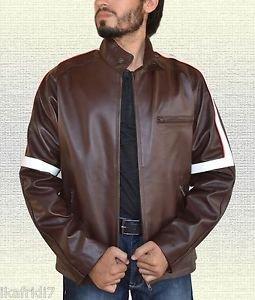 Tom Cruise War Of The World Handmade Genuine Sheep Leather Jacket S-5XL Brown