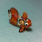 Clown Fish Miniature Funny Animal Hand Blown Painted Glass Statue Figure Small Craft Collectible