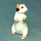 Guinea Pig Miniature Funny Animal Hand Made Painted Ceramic Statue Figure Small Craft Collectible