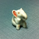 Elephant Miniature Funny Animal Hand Made Painted Ceramic Statue Figure Small Craft Collectible