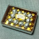 1 Box Packet Pack Chocolate Ferrero Rocher Food Plastic Miniature Dollhouse Jewelry Decoration