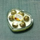 1 Box Packet Pack Chocolate Ferrero Rocher Food Heart Plastic Miniature Dollhouse Jewelry Decoration