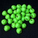 20 Apples Granny Smith Apple Fruit Fruits Green Tiny Food Clay Fimo Miniature Dollhouse Jewelry