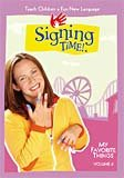 Signing Time Volume 6 My Favorite Things VHS