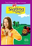Signing Time Volume 9 The Zoo Train DVD