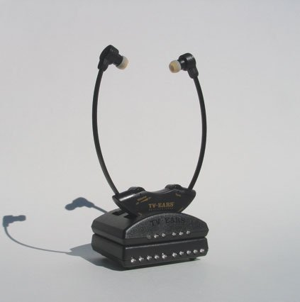 TV Ears Professional Listening System w/Dual Headsets