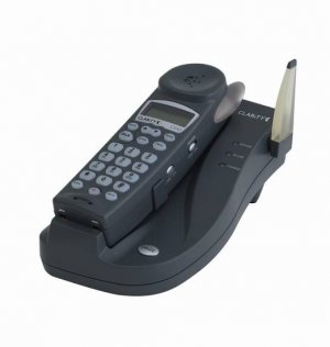 Clarity C440 2.4GHz 30dB Cordless Amplified Phone with Caller ID