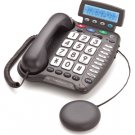 ClearSounds CSC50 50dB Amplified Telephone with Caller ID, Speakerphone & Built-in Strobe