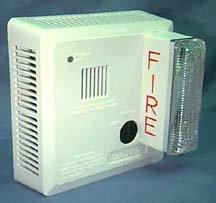 Gentex Smoke Detector w/Strobe (Hard-Wired) 710CS