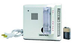 Gentex Smoke Detector w/Strobe (Plug-In W/Battery Backup) 7109LS
