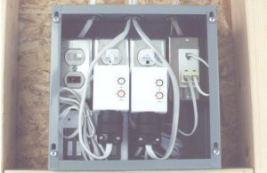 """UTSS Doorbell/Telephone """"Hard-Wired"""" Notification System (for BRAND NEW homes)"""