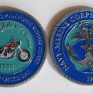 Harley Davidson Navy Marine Army Challenge COIN Air Force Motor cycle