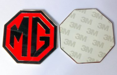 The MG Car Company Limited metal logo British sports car emblem