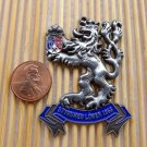 VINTAGE metal enamel car Lion Logo Badge Emblem styrumer lowen 1953