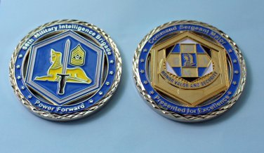 66th Military Intelligence Brigade Challenge Coin - SERGEANT MAJOR SECURITY