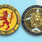 Challenge Coin 16th Airlift Squadron Charleston Air Force Base COMMANDER
