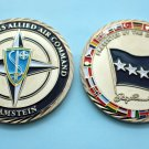 Challenge Coin Allied Air Command Ramstein Air Base Germany Commander NATO