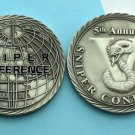Challenge Coin Gastonia Police Sniper Conference in Gastonia cobra snake