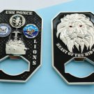 Challenge Coin US NAVY 3 inch 3 d