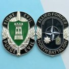 Challenge Coin Allied Forces North Battalion Sword Castle For Excellence