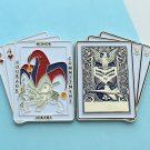 Challange Coin Usaf Air Force F-16 Fighting Falcon Playing Card Joker 2 Inch