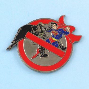 Challenge Coin New York Police Nypd Batman Vs Superman Buster Xx/25