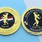 GOV Challenge Coin Arnold Schwarzenegger PROTECTIVE DETAIL Security 2 Inch