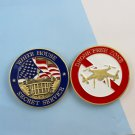 Challenge Coin Usss Secret Service White House Drone Free Zone Police