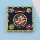 Challenge Coin Theater Field Confinement Facility usn NAVY POLICE