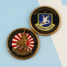Challenge Coin 35th SECURITY FORCES SQUADRON Misawa Air Base, Japan COPPER