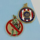 Challenge Coin New York Police NYPD boba fett vilains BUSTER TIMES SQUARE