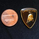 Metal Car Emblem STICKER BOND Lamborghini BADGE 1 Inch Tall