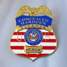 Concealed Carry Handgun License Badge Money Clip